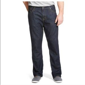 🆕Mossimo Supply Co dark rinse straight fit jeans